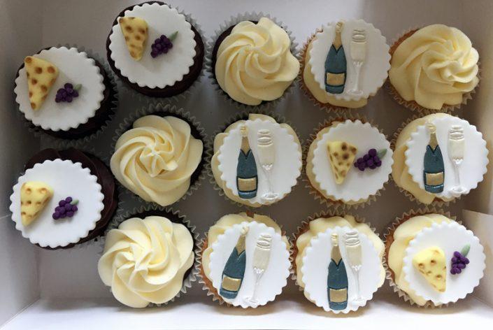 Wine & Cheese Cupcakes