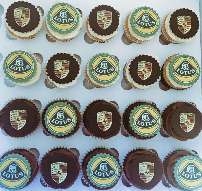 Sports Car Cupcakes
