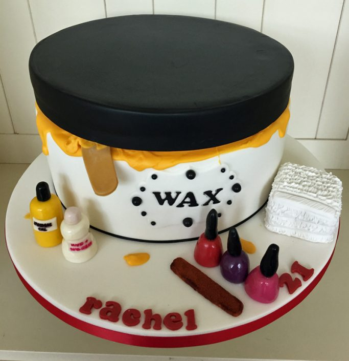 Beauty Therapist Cake
