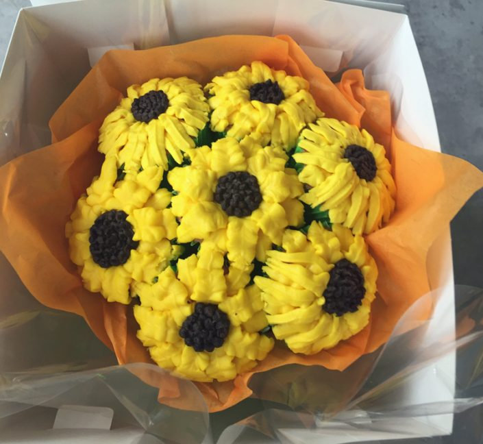 Sunflower Cupcake Bouque